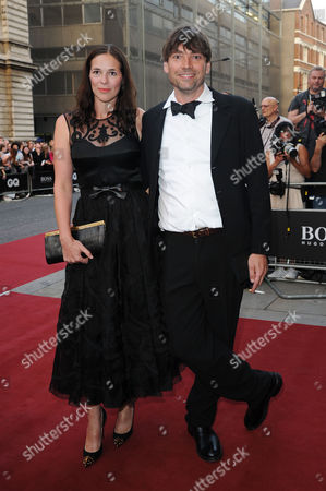 Gq Men of the Year 2013 in Association with Hugo Boss at the Royal Opera House Alex James with His Wife Claire Neate