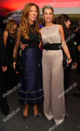 Gq Men of the Year Awards Reception at the Royal Opera House Heather Kerzner and Anastasia Webster