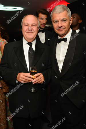 Gq Men of the Year Awards Reception at the Royal Opera House Harvey Goldsmith and Alan Edwards