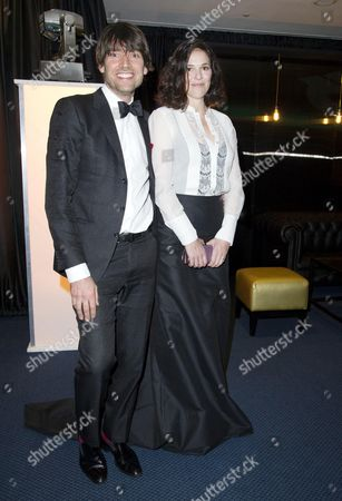 Gq Men of the Year Reception at the Royal Opera House Covent Garden Alex James with His Wife Claire Neate
