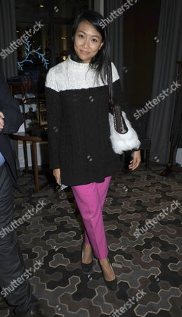 Hackett Flagship Store Opening Party Regent Street London Veronica Chou