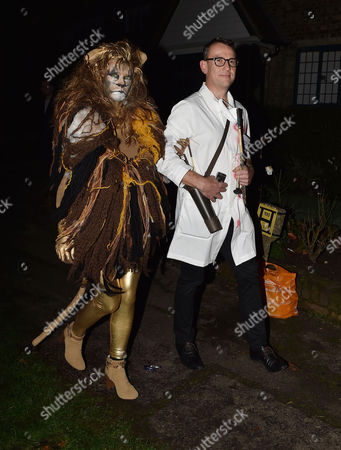 Jonathan Ross Hosts His Annual Halloween Party at His Home Aa Gill