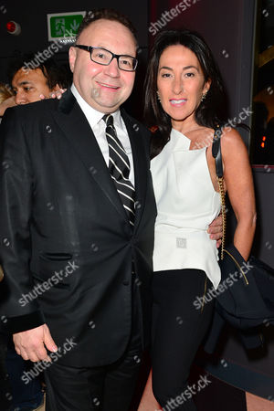 Hello! Fashion Monthly First Anniversary Party at Charlie Berkeley Street Jonathan Shalit with His Wife Katrina Sedley