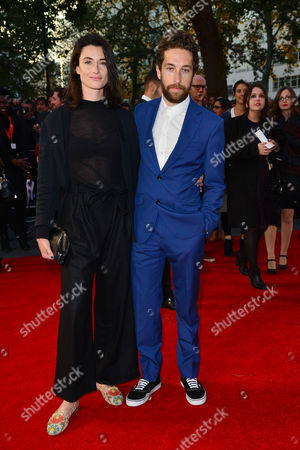 Stock Picture of High Rise Premiere During the London Film Festival at Odeon Leicester Square Natasha O'keeffe and Dylan Edwards