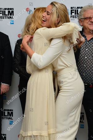High Rise Premiere During the London Film Festival at Odeon Leicester Square Sienna Miller and Alexandra Weaver