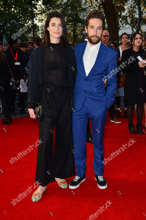 Stock Photo of High Rise Premiere During the London Film Festival at Odeon Leicester Square Natasha O'keeffe and Dylan Edwards
