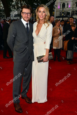 High Rise Premiere During the London Film Festival at Odeon Leicester Square Peter Ferdinando and Alexandra Weaver