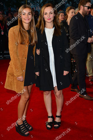 High Rise Premiere During the London Film Festival at Odeon Leicester Square Leila Mimmack (r)