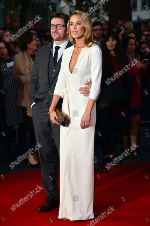 Stock Picture of High Rise Premiere During the London Film Festival at Odeon Leicester Square Peter Ferdinando and Alexandra Weaver