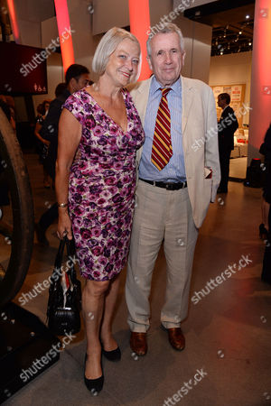 Imperial War Museum Relaunch Party Kate Adie and Martin Bell