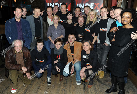 Index On Censorships Campaign On Free Expression in Belarus and the Belarus Free Theatre at the Young Vic Adjoa Andoh Jude Law Natalia Kaliada Sienna Miller and Sam West and the Rest of the Cast and Crew Michael Attenborough David Lan and Directors of Index On Censorship