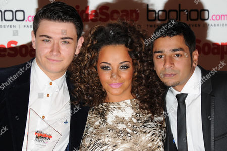 Inside Soap Awards Arrivals at One Marylebone Will Rush Chelsee Healey and Naveed Choudhry