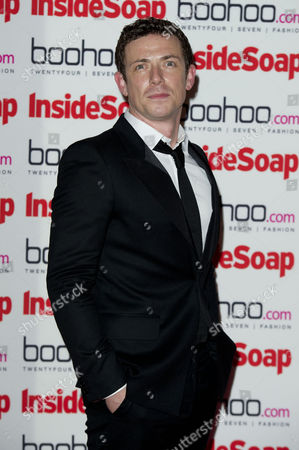 Inside Soap Awards Arrivals at One Marylebone Michael Thomson