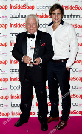 Inside Soap Awards Arrivals at One Marylebone Chris Milligan and Tom Oliver