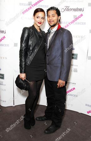 Inspiration Awards For Women at Cadogan Music Hall Nathalie Emmanuel with Her Boyfriend Devon Anderson