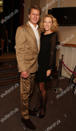 Inspiration Awards For Women at Cadogan Music Hall Andrew Castle with His Wife Sophia