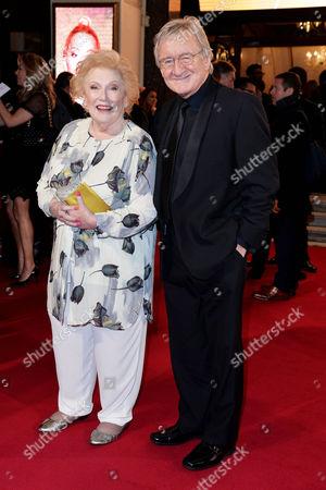 Itv Gala at the London Palladium Denise Robertson and Chris Steele
