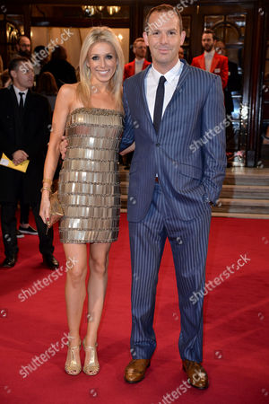 Itv Gala at the London Palladium Lara Lewington with Her Husband Martin Lewis
