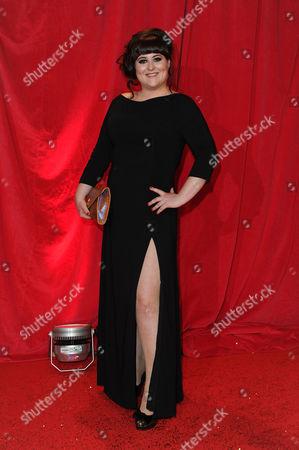Itv Soap Awards at the Hackney Empire Jessica Ellis