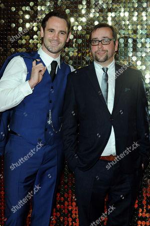 Itv Soap Awards at the Hackney Empire Ayden Callaghan and Dan Tetsell