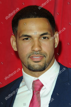 Itv Soap Awards at the Hackney Empire Aaron Fontaine