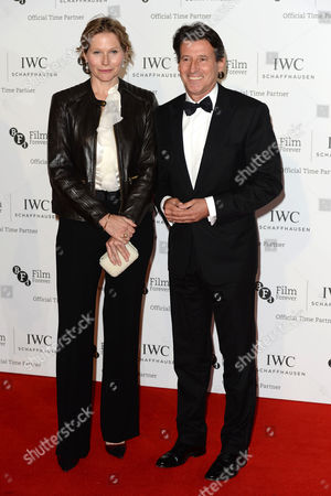 Iwc Schaffhausen Gala Dinner in Honour of the Bfi at Battersea Evolution Lord Seb Coe with His Wife Carole Annett