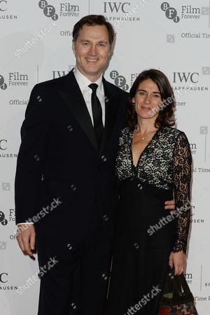 Iwc Schaffhausen Gala Dinner in Honour of the Bfi at Battersea Evolution David Morrissey with His Wife Esther Freud