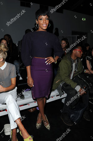 Stock Picture of Jean-pierre Braganza Fashion Show During London Fashion Week at Somerset House Dawn Richards