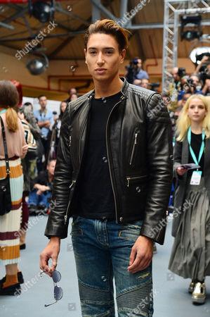 Jean-pierre Braganza Fashion Show During London Fashion Week Ss16 at Bfc Space Brewer Street Carpark Nat Weller