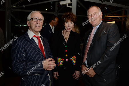 Jewish Film Festival Opening Night at the Bfi Southbank Andrew Sachs with His Wife Melody Lang and Stephen Margolis