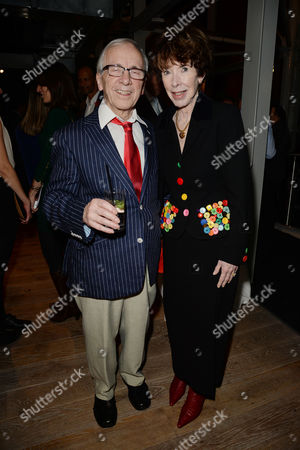 Jewish Film Festival Opening Night at the Bfi Southbank Andrew Sachs with His Wife Melody Lang