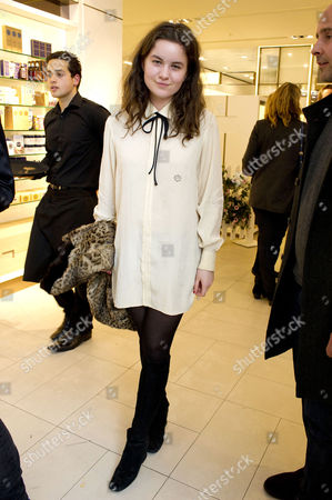 Stock Picture of Launch of the New John Lewis Beauty Hall On Oxford Street Amba Jackson