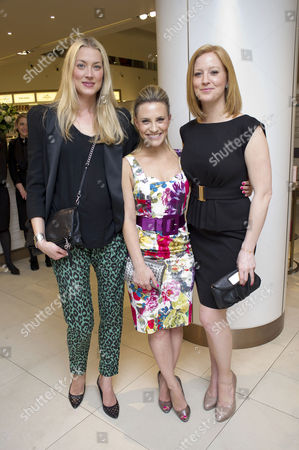 Launch of the New John Lewis Beauty Hall On Oxford Street Heidi Wichlinski and Georgie Thompson