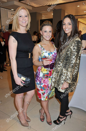 Launch of the New John Lewis Beauty Hall On Oxford Street Georgie Thompson and Olivia Godfrey