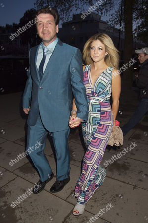 50th Birthday at the V&a Nick Knowles with His Girlfriend Jessica Morris