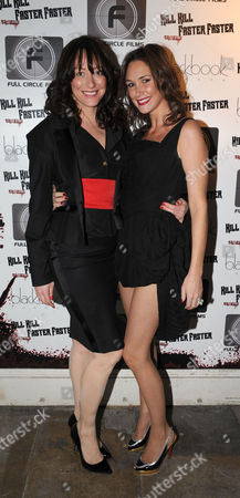 The London Independent Film Festival Uk Premiere For Kill Kill Faster Faster Party at 33 Portland Place London Dee Murren ( Miss Dee) & Claire Merry (mrs Thierry Henry)
