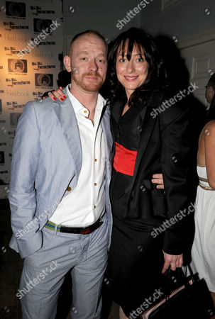 Stock Photo of The London Independent Film Festival Uk Premiere For Kill Kill Faster Faster Party at 33 Portland Place London Dee Murren ( Miss Dee) & Rufus Abbott