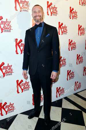 Stock Picture of Kinky Boots Press Night Afterparty at the Connaught Rooms Darren Carnall