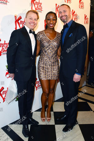 Kinky Boots Press Night Afterparty at the Connaught Rooms Rusty Mowery Beverley Knight and Darren Carnall