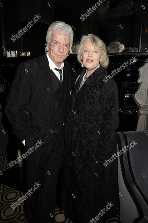 Jewellery Collection Launch Party at the Coburg Bar of the Connaught Hotel Carlos Place Nicky Haslam and Lucia Van Der Post