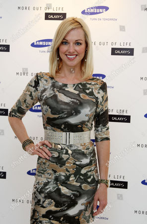 Launch Party For the New Samsung Galaxy S Phone at Altitude Millbank Sarah Manners