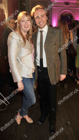 Launch Party For Twiggy's First Marks & Spencer Fashion Collection Jason Lawson (ace) with His Sister Carly Witney
