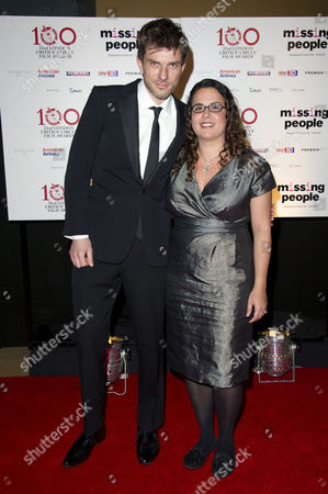 London Critics Circle Film Awards at the Mayfair Hotel David Raedeker and Sally El Hosaini