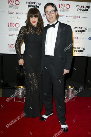 London Critics Circle Film Awards at the Mayfair Hotel Charlie Creed-miles with His Partner Sachi Loggia