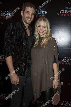 'Lord of the Dance - Dangerous Games' Gala Night at the London Palladium Kimberly Wyatt with Her Husband Max Rogers