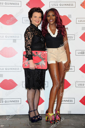 Lulu Guinness Paint Project in Collaboration with Beautiful Crime at the Old Sorting Office New Oxford Street Lulu Guinness and Lulu James