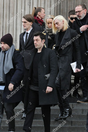 Memorial For Professor Louise Wilson at St Pauls Cathedral Gareth Pugh and Carson Mccoll