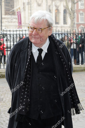 Lord Attenborough's Memorial Service at Westminster Abbey Alan Parker