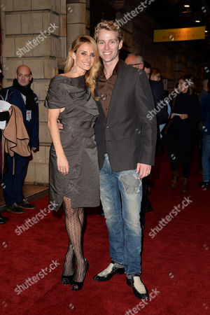 'Memphis' Press Night Arrivals at the Shaftesbury Theatre Trent Whiddon