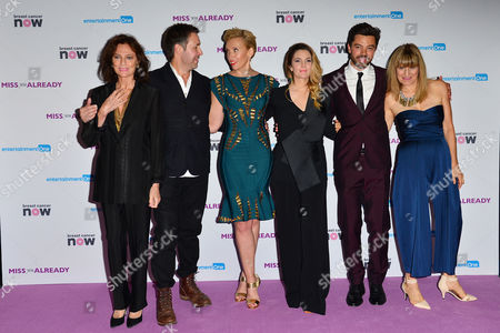 'Miss You Already' Premiere at the Odeon Leicester Square Jacqueline Bissett Paddy Considine Toni Collette Drew Barrymore Dominic Cooper and Director Catherine Hardwicke